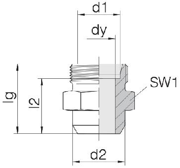 Соединение для труб под сварку прямое 24-WDS-L8-C00