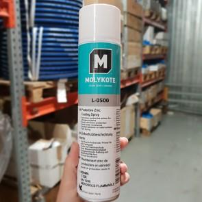 Антикоррозионное алюминиево-цинковое покрытие MOLYKOTE L-0500 SPRAY