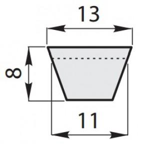 Ремень приводной клиновый классический A-23,5/600