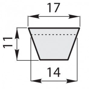 Ремень клиновой классический B-32,5/825