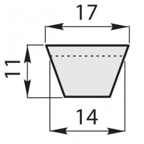 Ремень клиновой классический B-100/2540