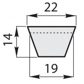 Ремень клиновый классический C-132/3350