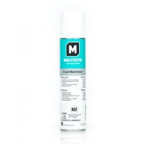 Универсальный смазочный материал Molykote Food Machinery Spray Oil с пищевым допуском NSF H1