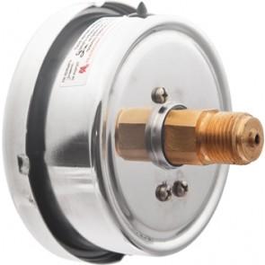 Манометр TM-320 Т 0 1 0 (0-0,4 мПа) G1/4 1.5  виброустойчивый в корпусе из нержавеющей стали IP65