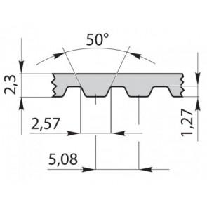 Ремень приводной зубчатый 102XL930