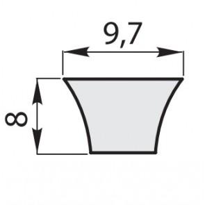 Ремень приводной клиновый узкий зубчатый XPZ-630